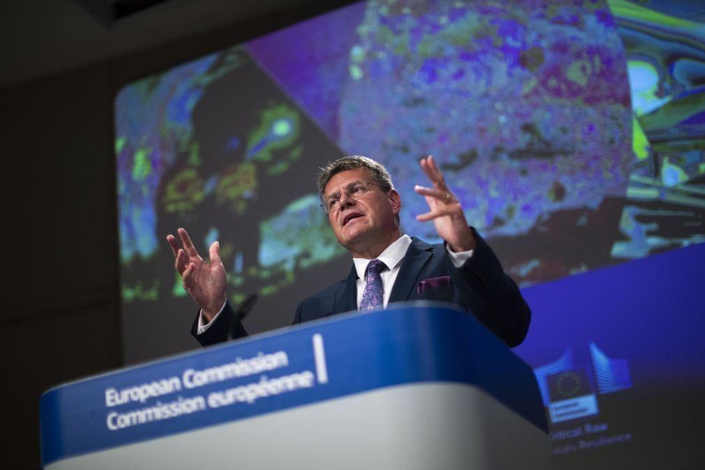 Brexit: Vice-presidente da Comissão Europeia transmite