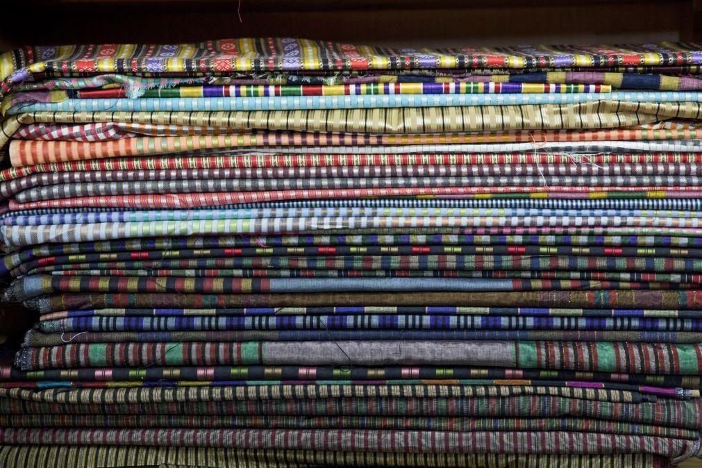 Covid-19: Exportações do têxteis abrandam quebra homóloga para -15,2% até julho