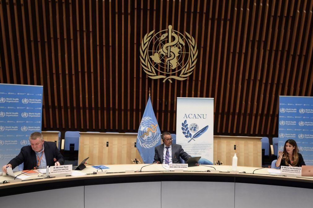 Covid-19: Diretor-geral da OMS apela para