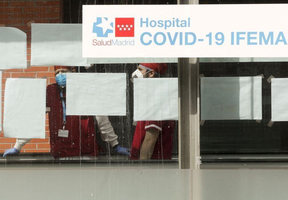 Covid-19: Espanha registou 10.764 casos e 71 mortes nas últimas 24 horas