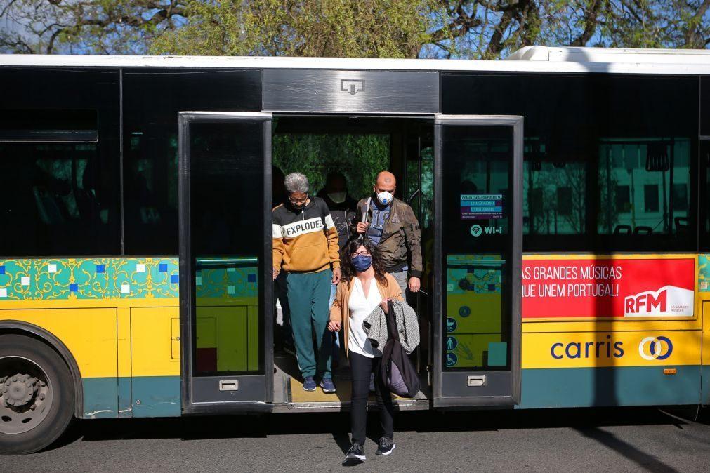 Covid-19: Carris reforça oferta de transportes em cerca de 10% em relação a 2019