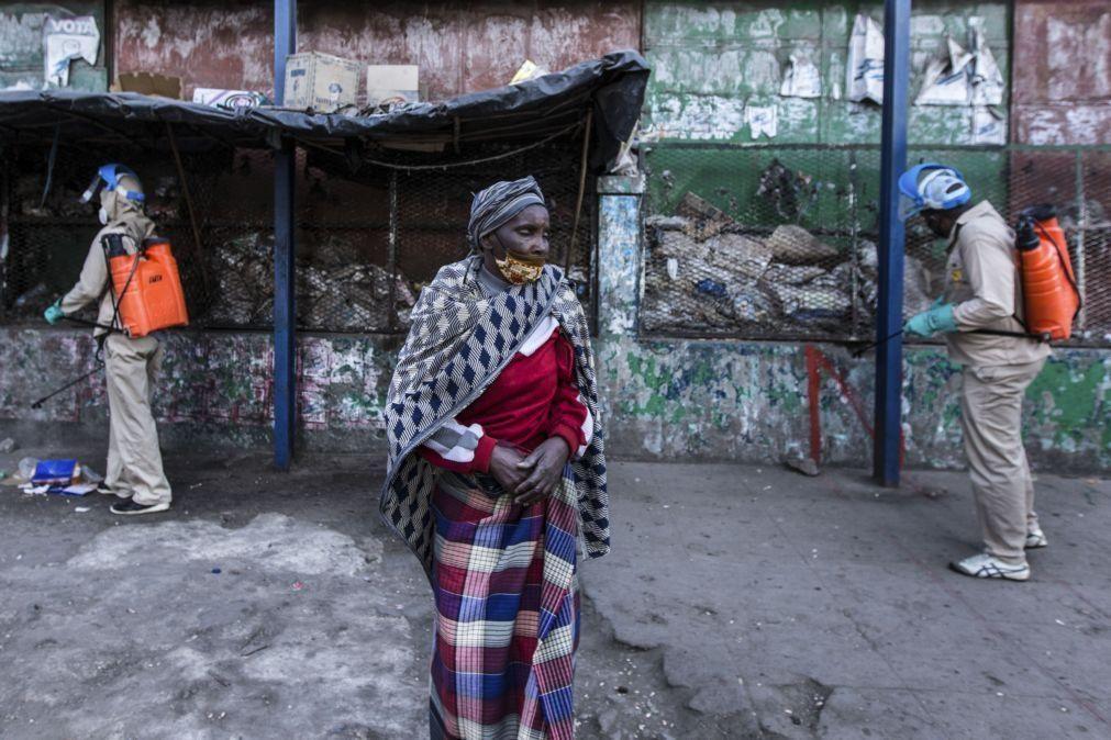 Covid-19: Moçambique anuncia 86 novas infeções