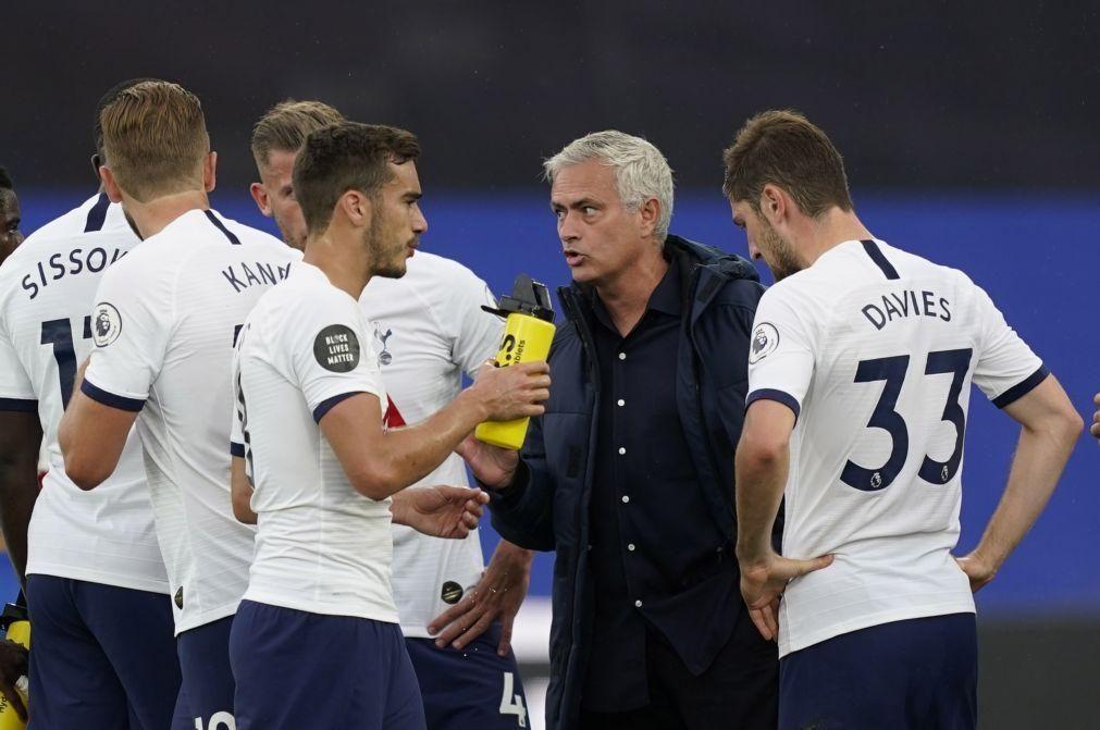 José Mourinho quer contratar mais um avançado para o Tottenham