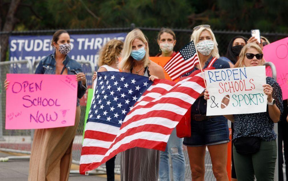 Covid-19: Estados Unidos com mais 1.107  mortos e 43.136 novos casos