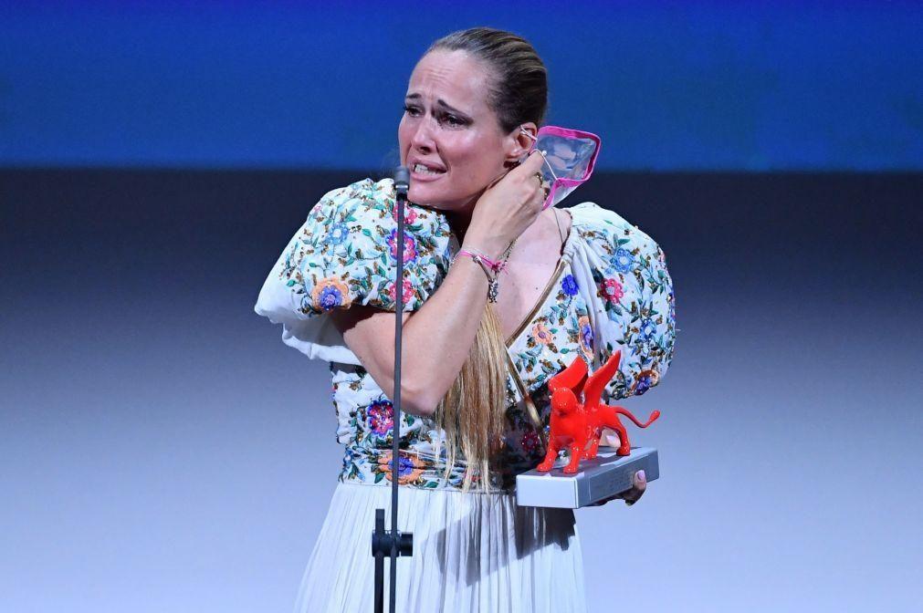 Ana Rocha de Sousa duplamente premiada hoje no Festival de Cinema de Veneza