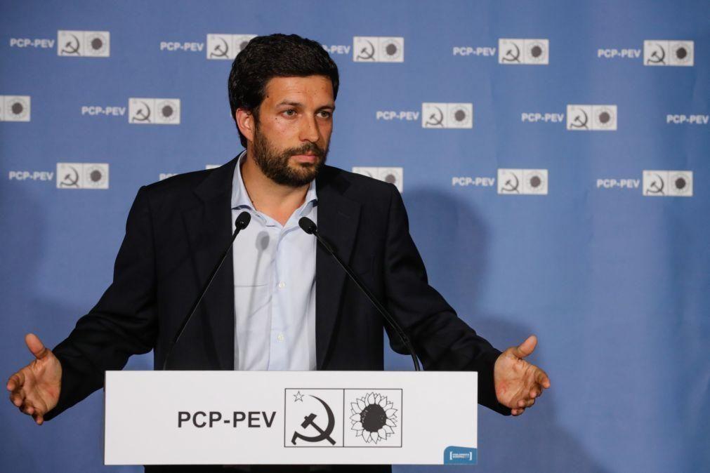 João Ferreira é candidato do PCP a Belém