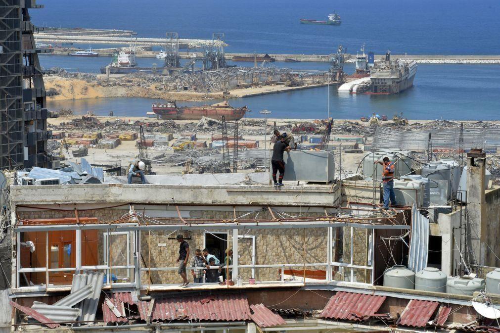 Líbano/Explosões: UE entrega 30 toneladas de ajuda portuguesa e alemã a Beirute