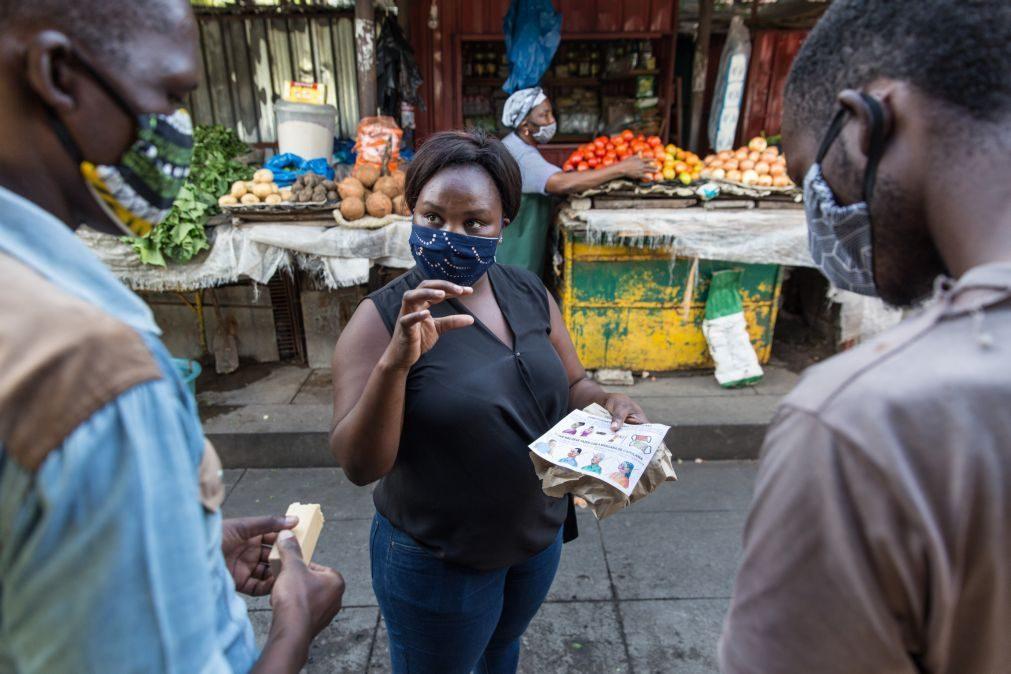 Covid-19: África com 146 mortos e 7.487 novos casos em 24 horas