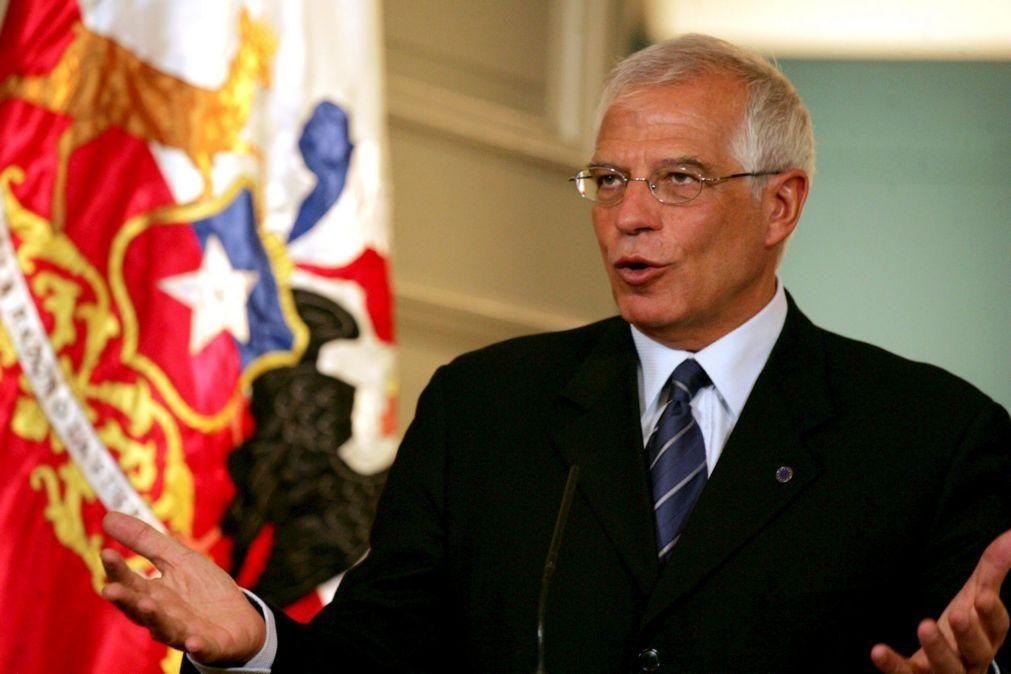 Chefe da diplomacia europeia diz que a vizinhança da UE