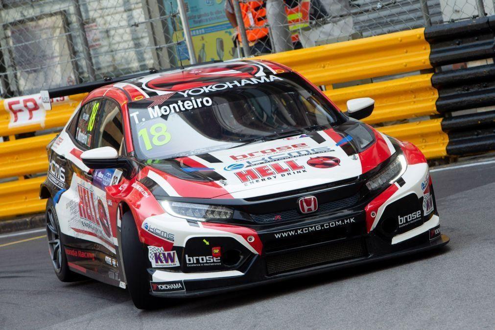 Tiago Monteiro salva dois pontos na Taça do Mundo de Carros de Turismo