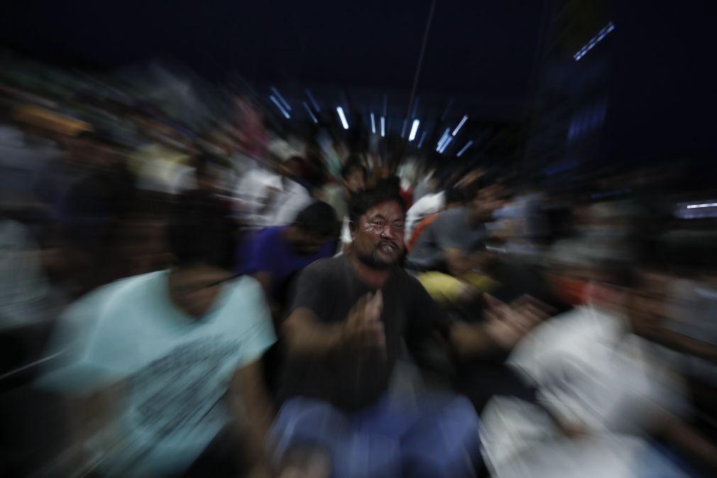 Manifestações no Porto e Lisboa exigem acolhimento de refugiados de Moria
