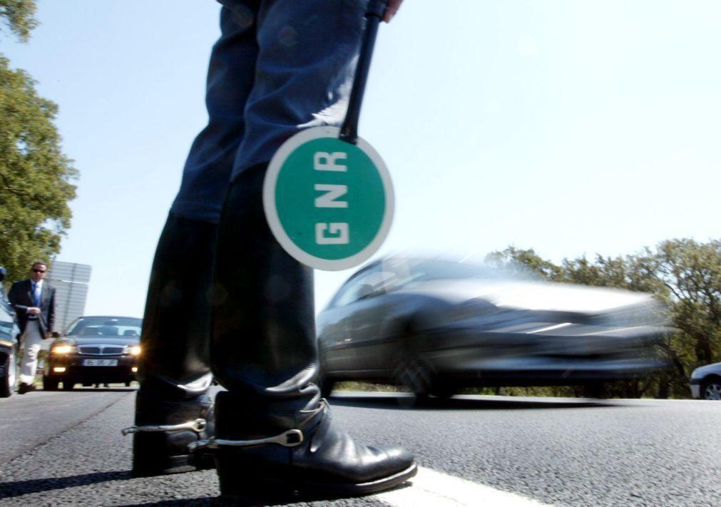GNR inicia hoje operação para fiscalizar transporte de mercadorias perigosas