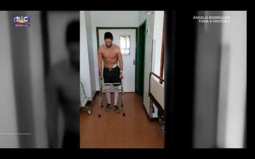 Ângelo Rodrigues. As imagens da recuperação que estão a impressionar Portugal