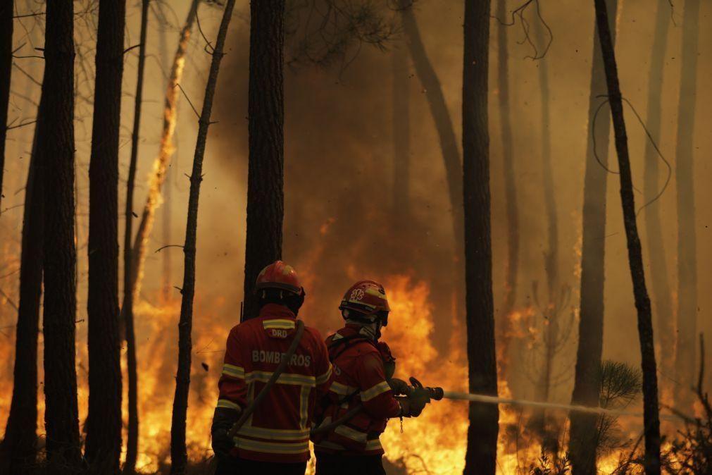 Incêndios: Mais de 20 pessoas retiradas de casa em aldeias de Oleiros