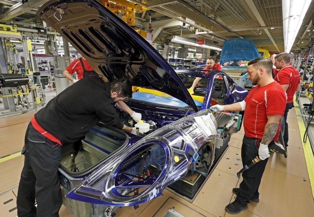 Produção automóvel em Portugal aumenta 9,4% em agosto mas cede 32% no acumulado do ano