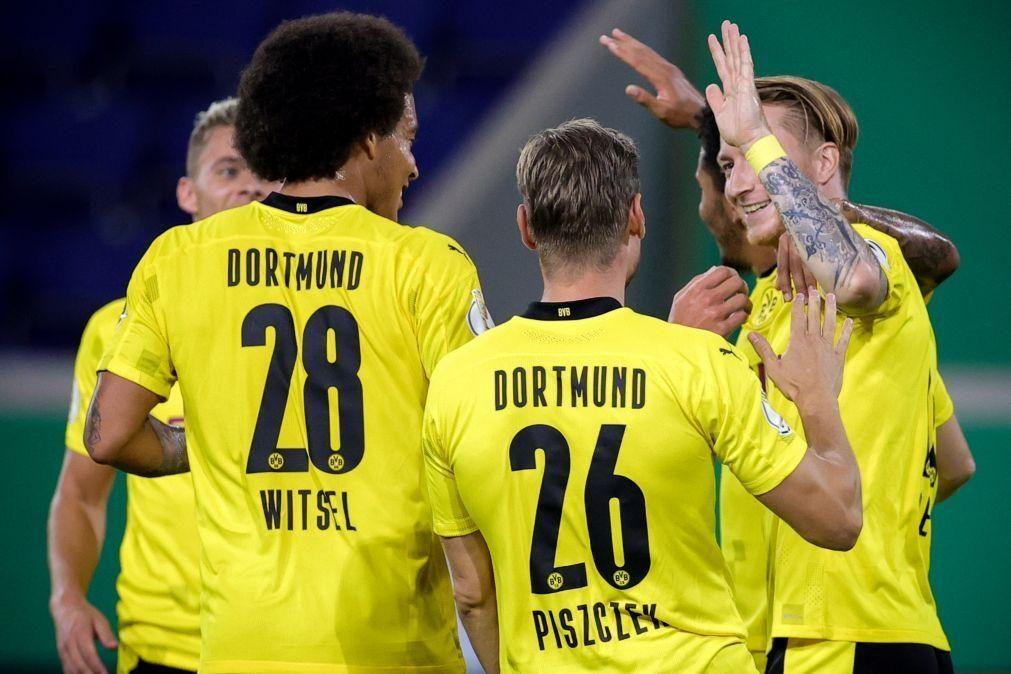 Dortmund com facilidade na segunda ronda da Taça da Alemanha