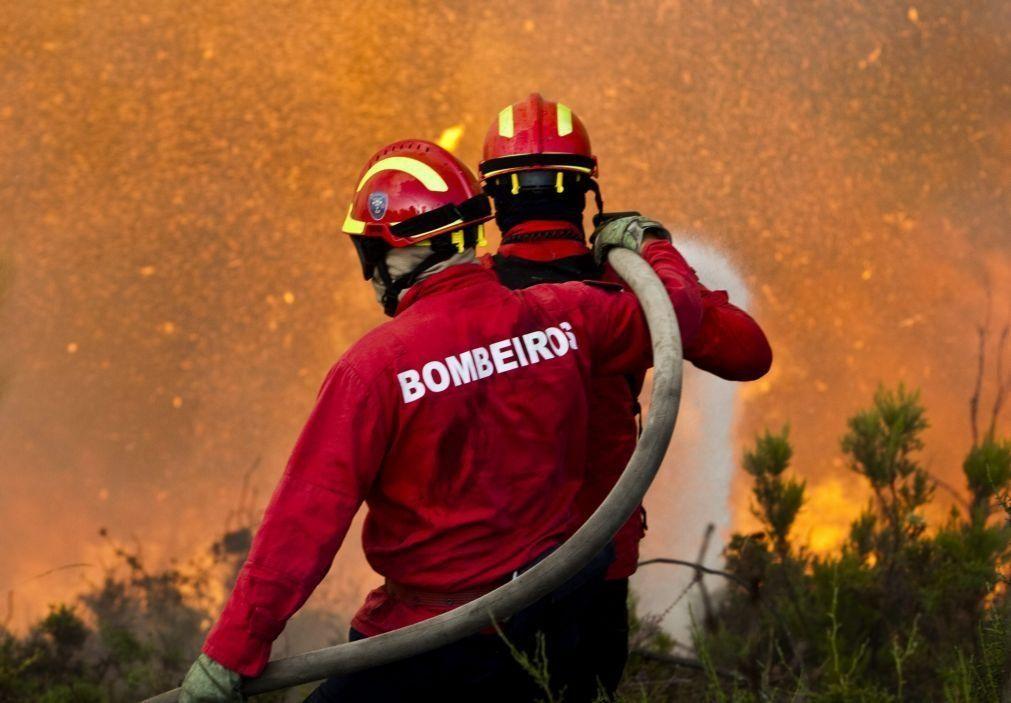 Incêndios: Fogo com três frentes em Monção deverá estar dominado durante a madrugada