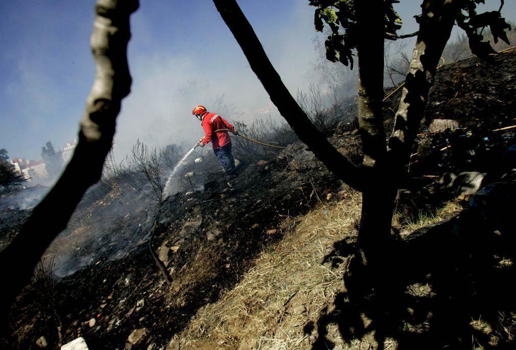 Incêndios: Dominado fogo em Monção
