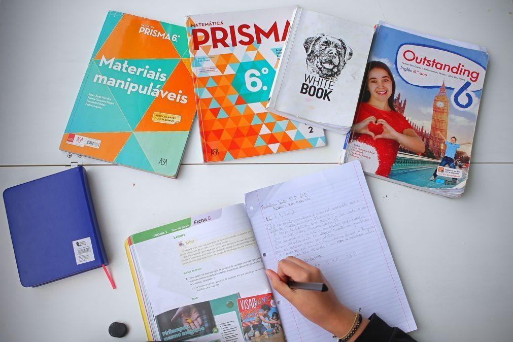 Covid-19: Escola Virtual cresceu, mas alunos continuaram a preferir manuais em papel