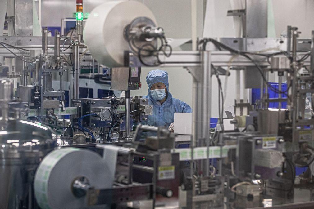 Produção industrial da China cresceu 5,6% em agosto