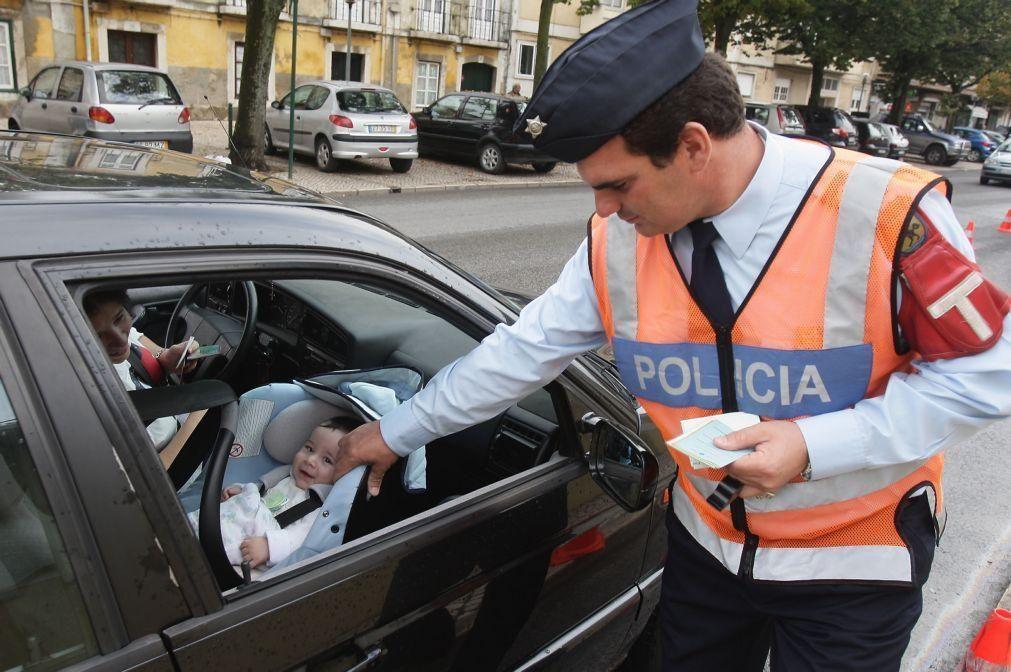 Quase 13.800 infrações registadas na campanha de segurança rodoviária