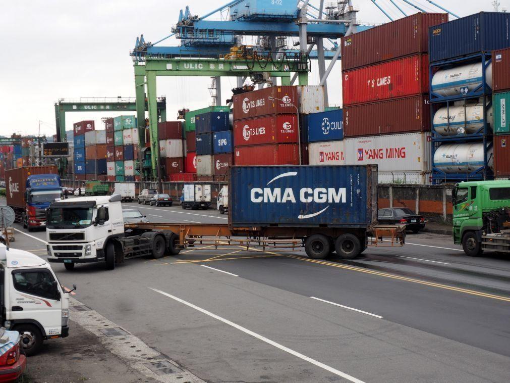 Países lusófonos exportam menos 7,32% para a China no 1.º semestre