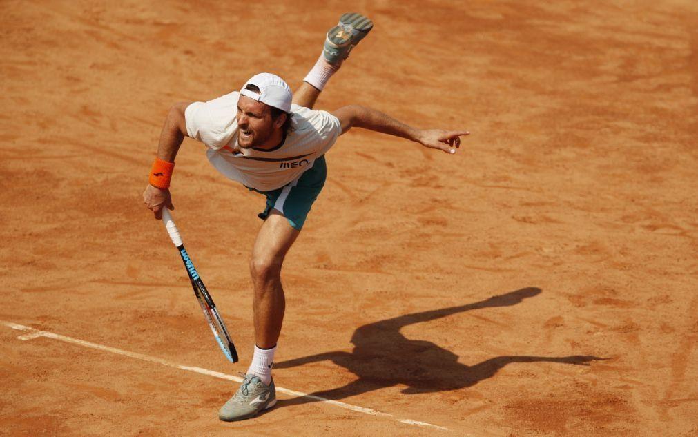 João Sousa eliminado na primeira ronda do Masters 1000 de Roma