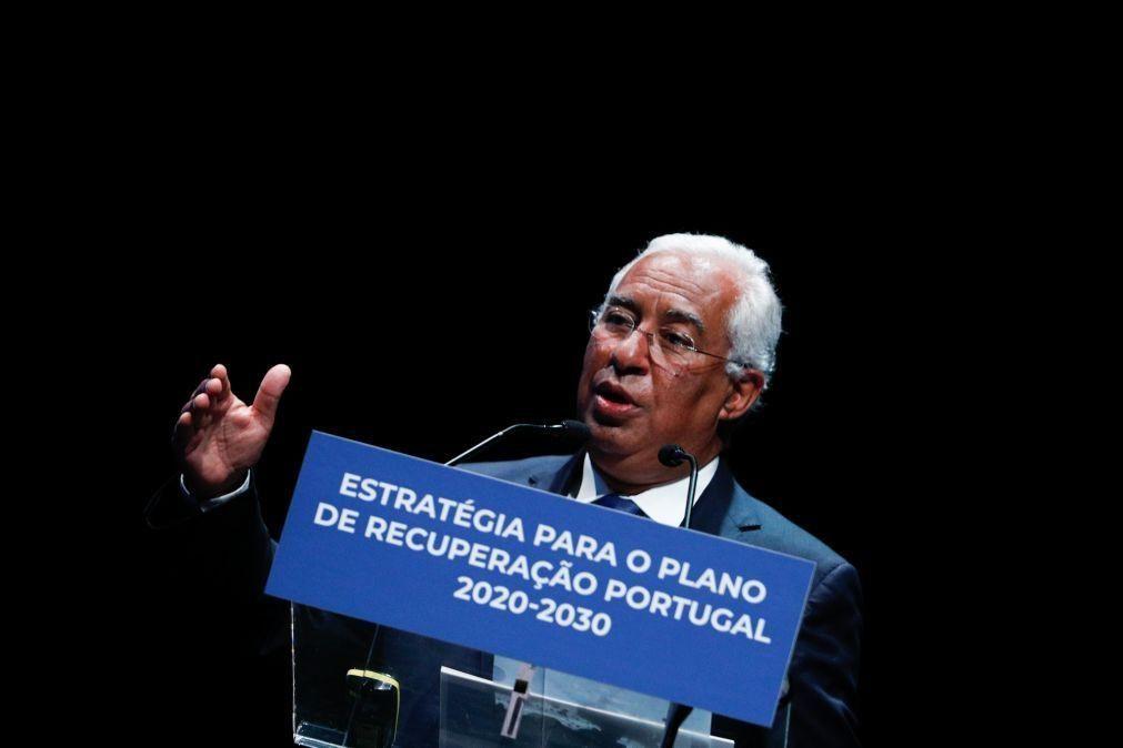 Plano 2020/2030: Costa avisa que Portugal só terá sucesso com amplo consenso político e social