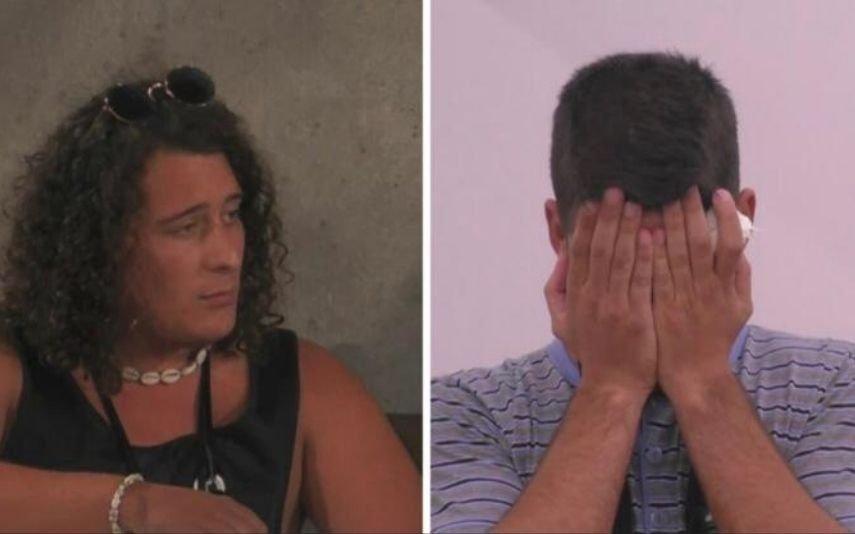 Big Brother. Primeira discussão deixa Luís a chorar baba e ranho por causa de André Filipe