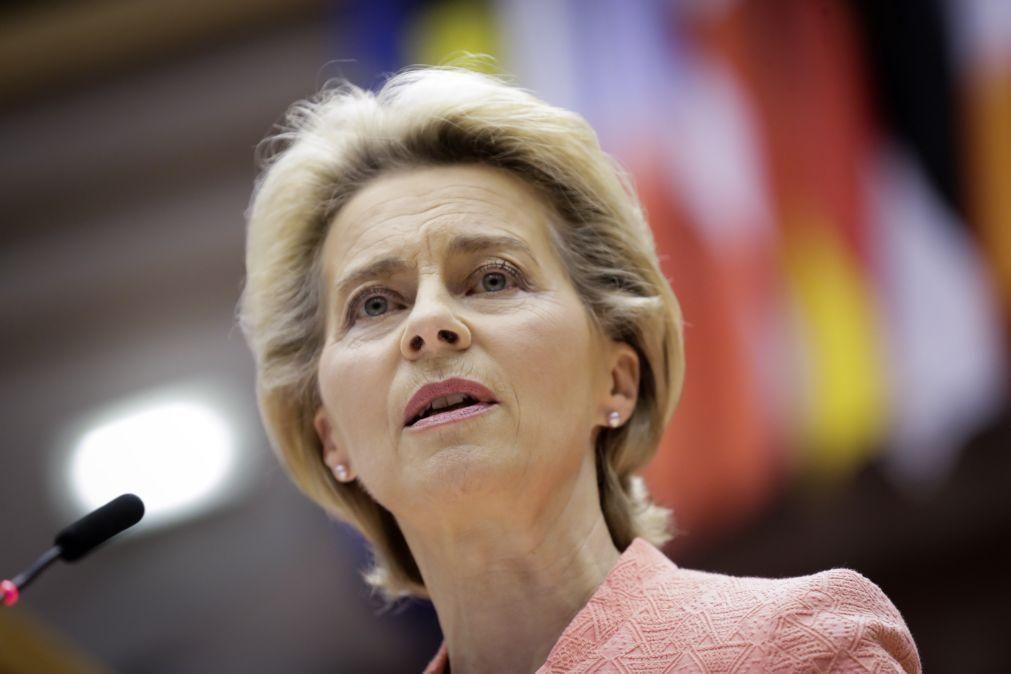 Estado da União: É momento de Europa passar de fragilidade a nova vitalidade -- Von der Leyen