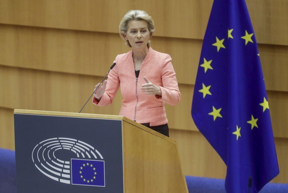 Estado da União: Von der Leyen quer uma verdadeira União da Saúde Europeia