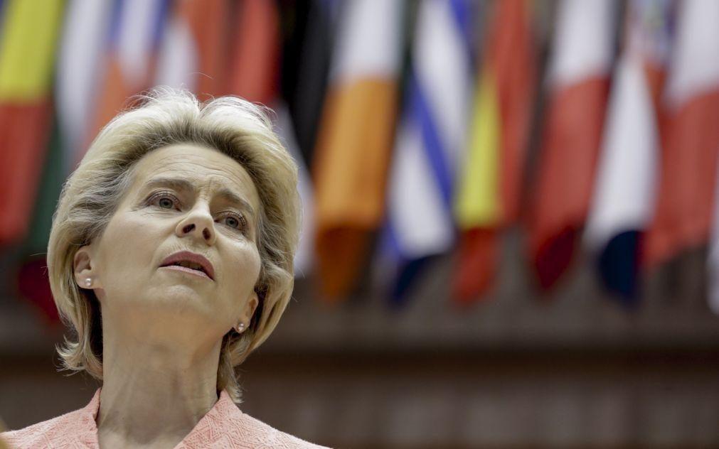 Estado da União: Von der Leyen defende salário mínimo para todos na Europa
