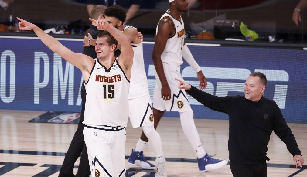 Nuggets fazem história e apuram-se para a final do Oeste da NBA