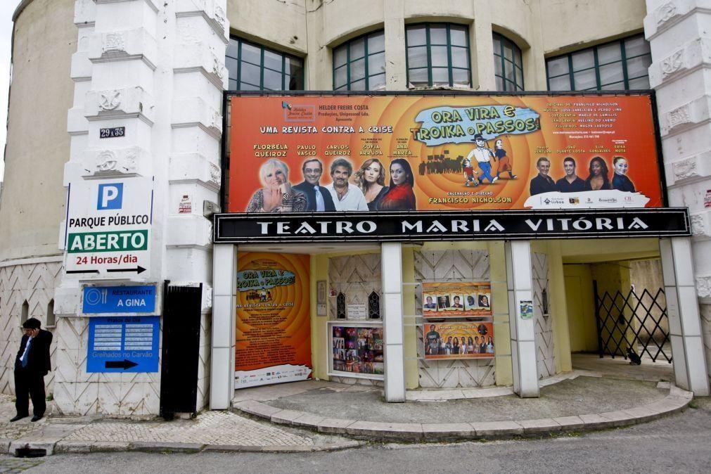 Teatro Maria Vitória retomou atividade para não