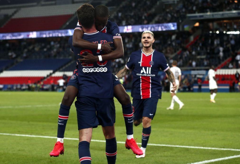 Golo de Draxler nos descontos salva Paris SG de nova humilhação