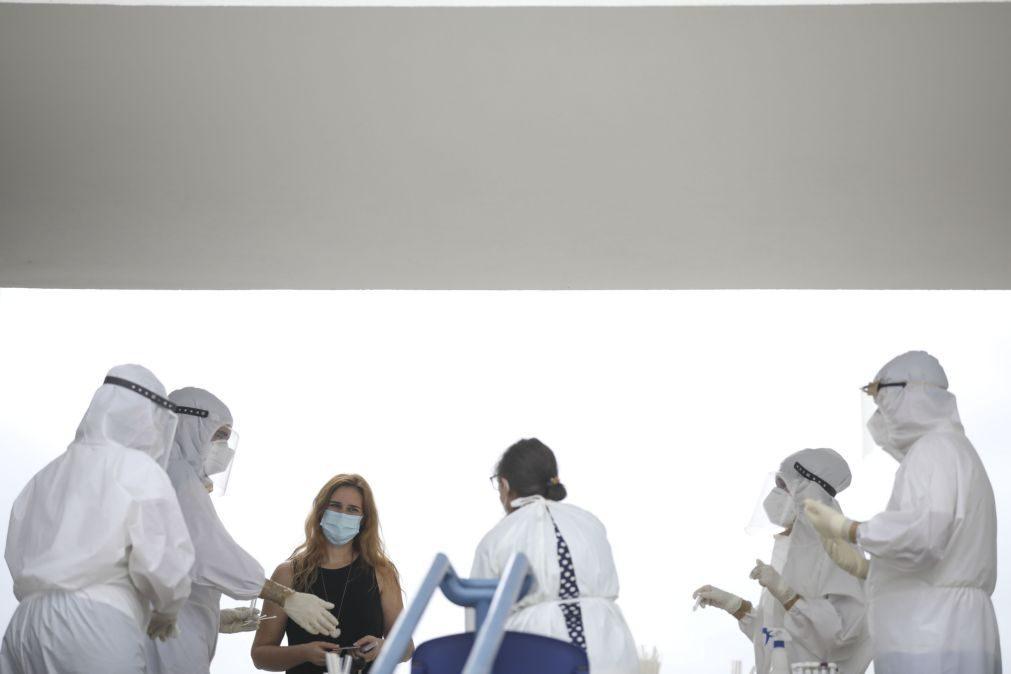 Mais de metade dos médicos não usaram equipamentos de proteção adequados no estado de emergência