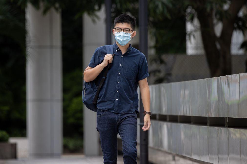 Portugal tem o direto de visitar portador de passaporte detido na China - Ativista Joshua Wong