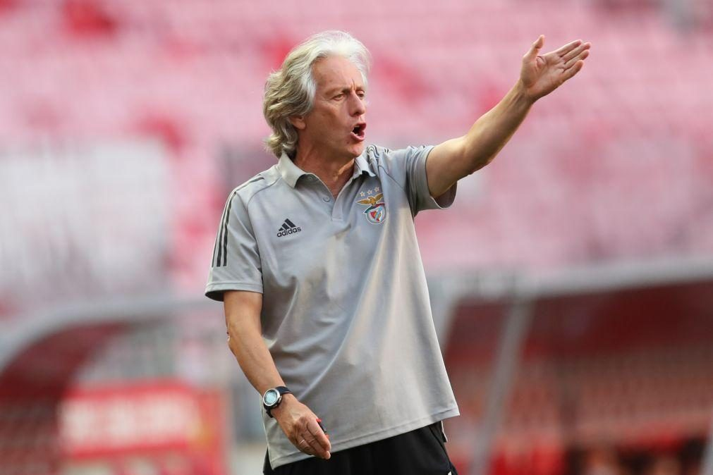Jorge Jesus quer Benfica a jogar