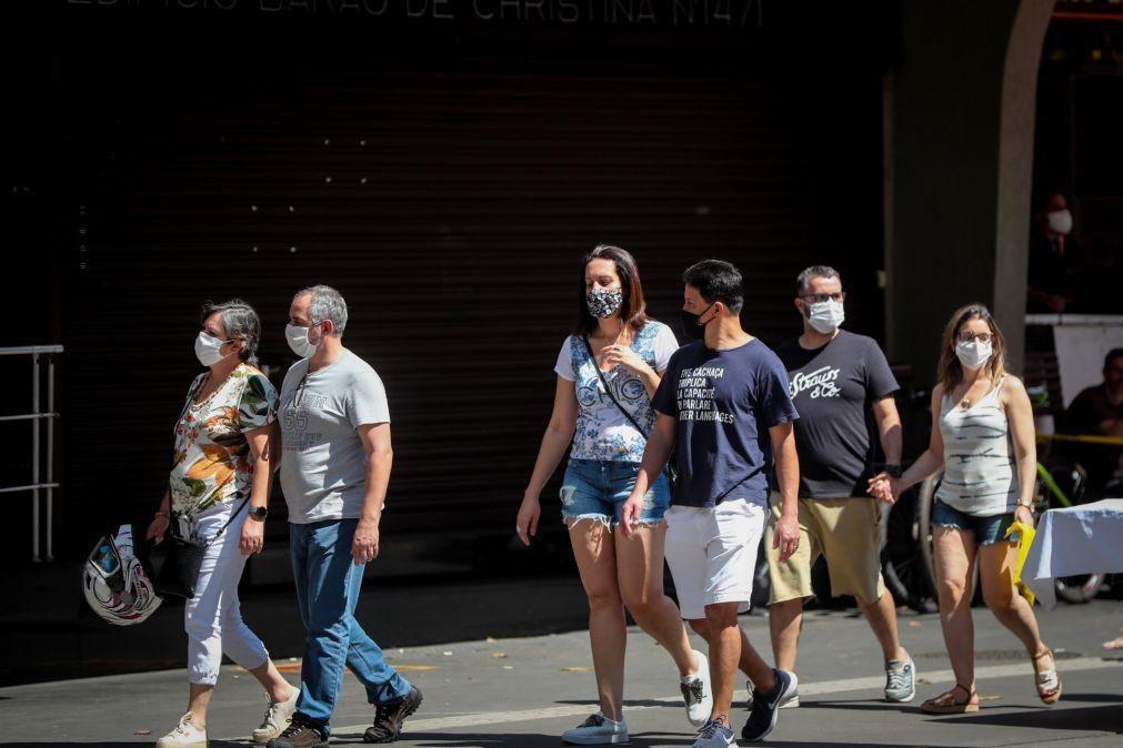 Covid-19: Mais 829 mortes e 36.303 casos em 24 horas no Brasil