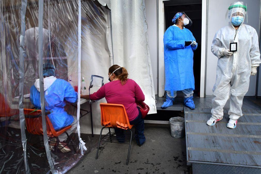 Covid-19: México com 201 mortos e 3.182 novos casos nas últimas 24 horas