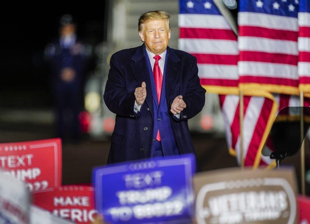 Covid-19: Trump anuncia nova ajuda ao setor agrícola de 13 mil milhões de dólares