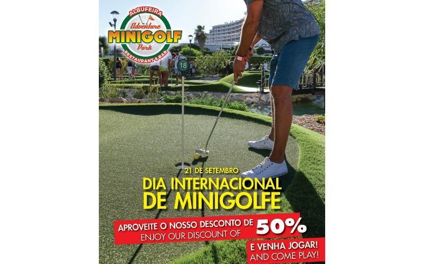 Dia Internacional do Minigolfe - Venha jogar connosco em Albufeira