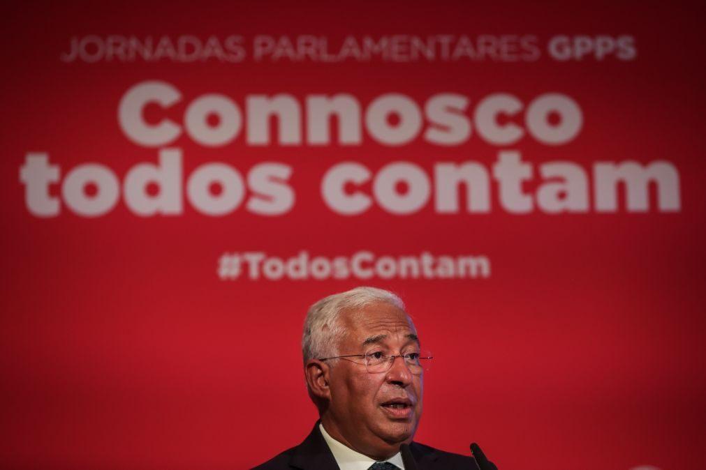 Plano 2020/30: Costa avisa que não há tempo a perder e país enfrenta