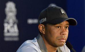Tiger Woods em estado grave após acidente de viação