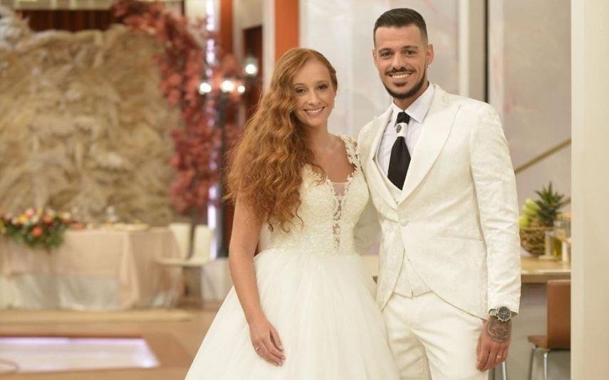 O Noivo É Que Sabe. Todos os pormenores do vestido que Diogo escolheu e Daniela alterou