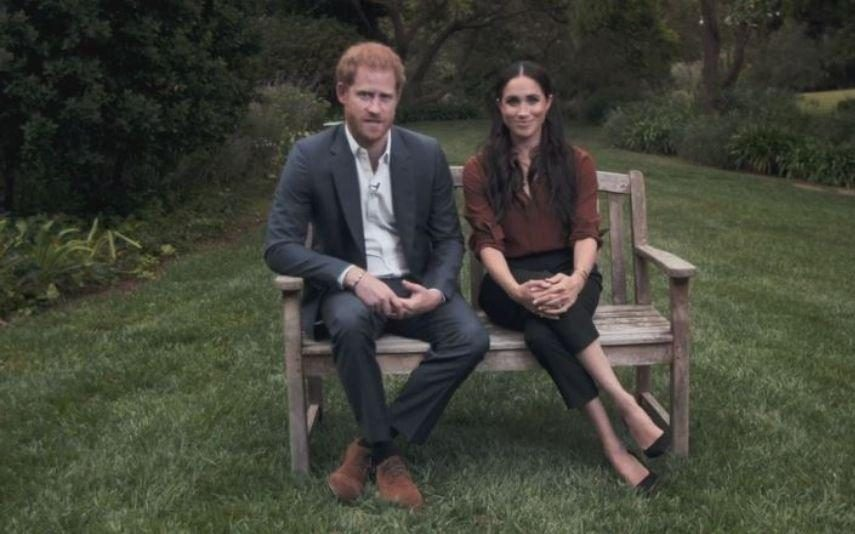 Meghan e Harry fazem primeira aparição televisiva após Megxit