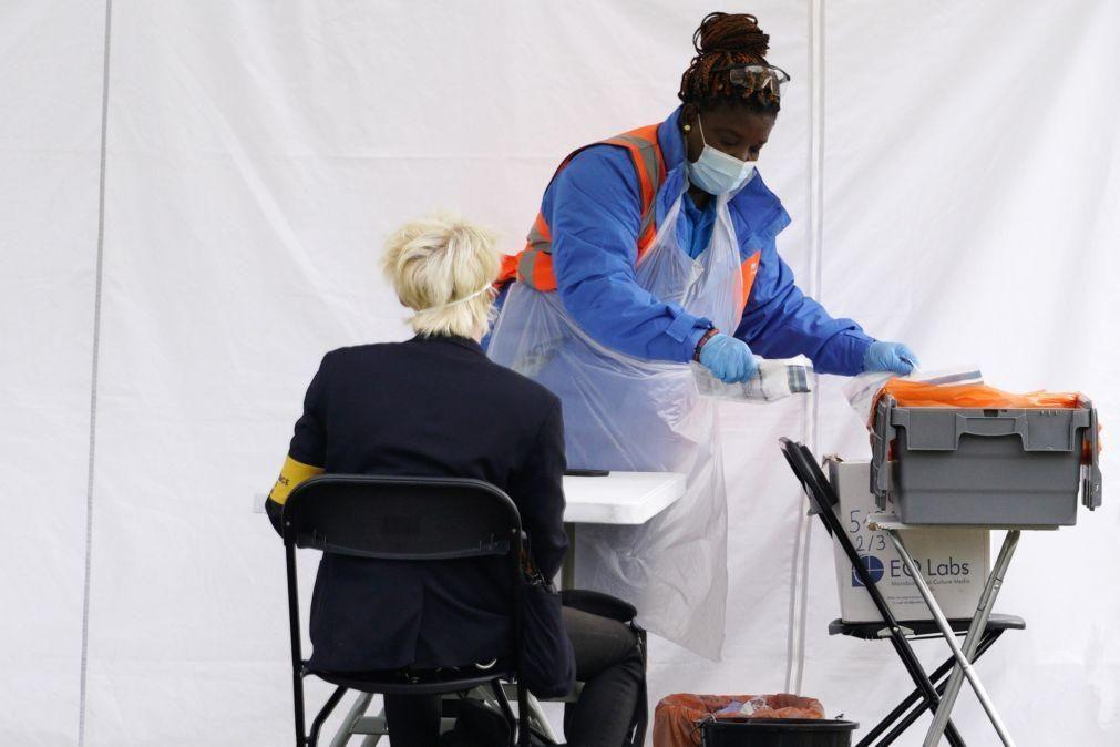 Covid-19: Reino Unido regista 6.178 novas infeções, mais 25% do que na véspera