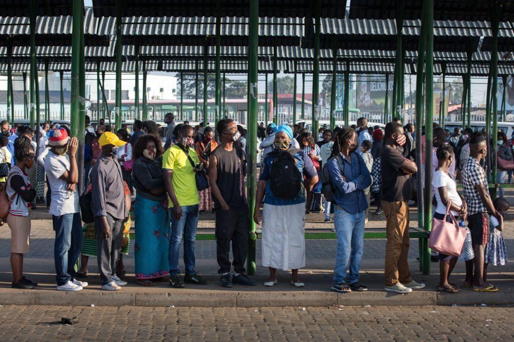 Covid-19: Moçambique regista mais quatro óbitos e atinge total de 7.262 infeções