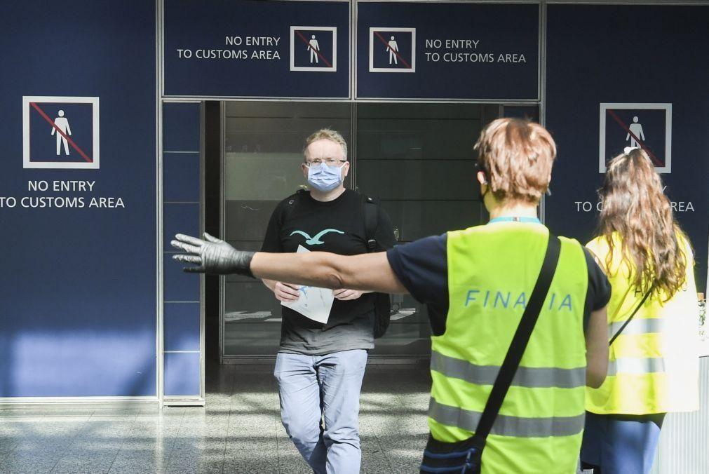 Covid-19: Finlândia só vai permitir entrada livre a turistas de 13 países