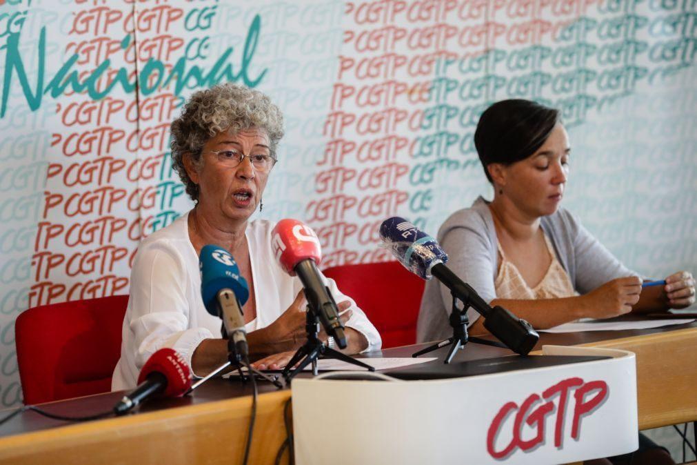 CGTP realiza hoje manifestações e concentrações em vários pontos do país